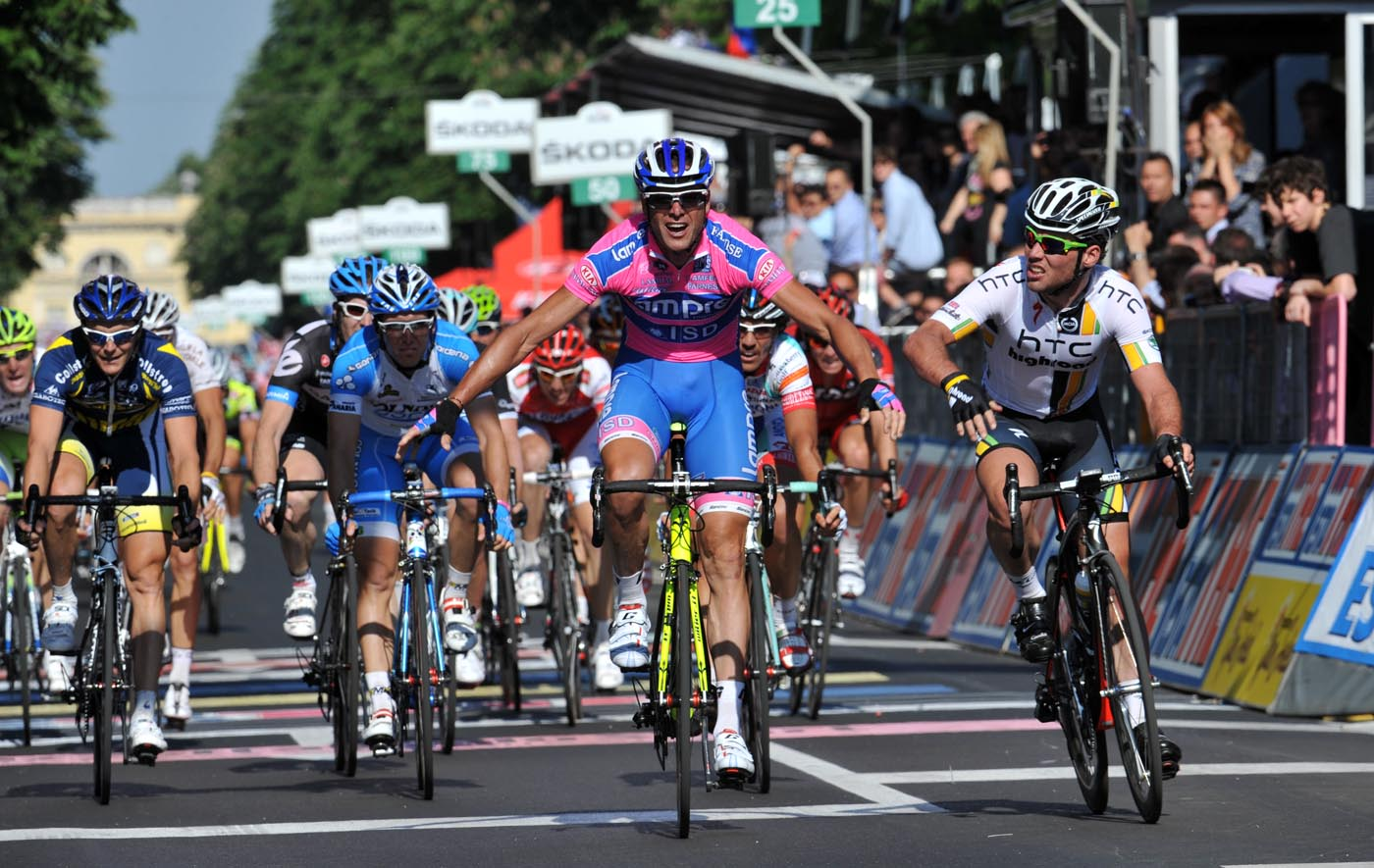 Alessandro Petacchi wins stage, Giro d