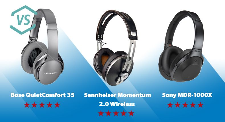 Bose Qc25 Vs Qc35 >> Bose Vs Sennheiser Vs Sony Which Are The Best Wireless Noise