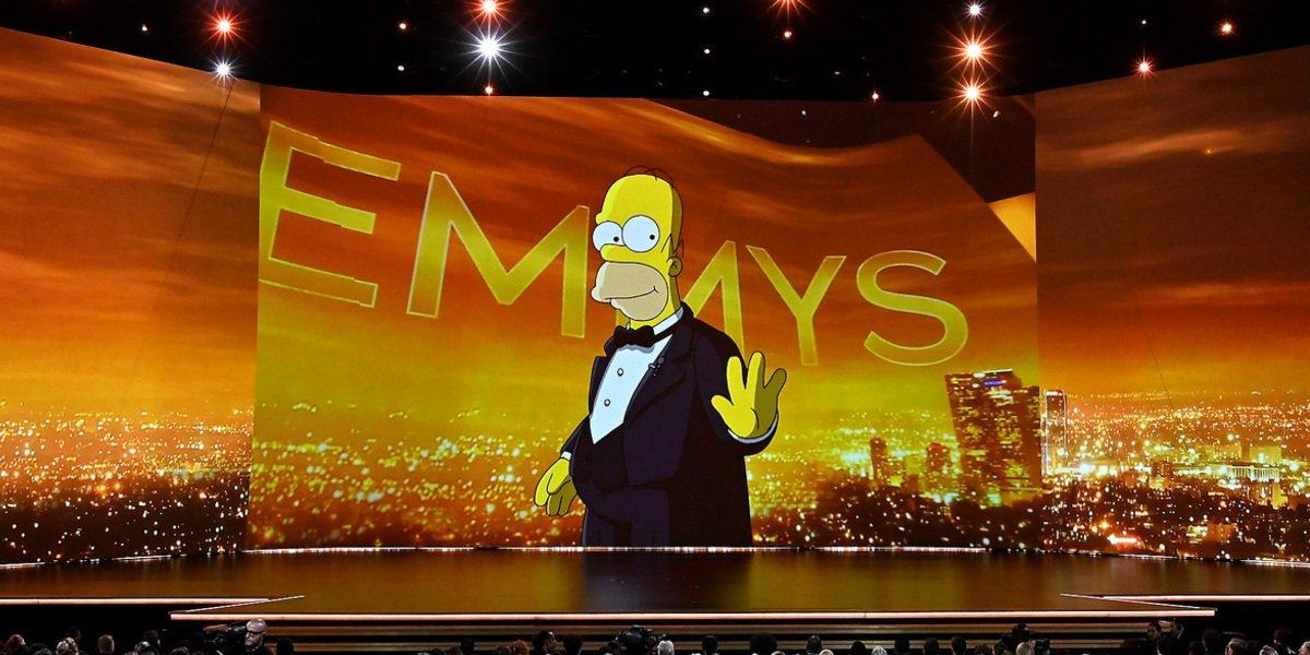 the emmys 2019 homer simpson fox