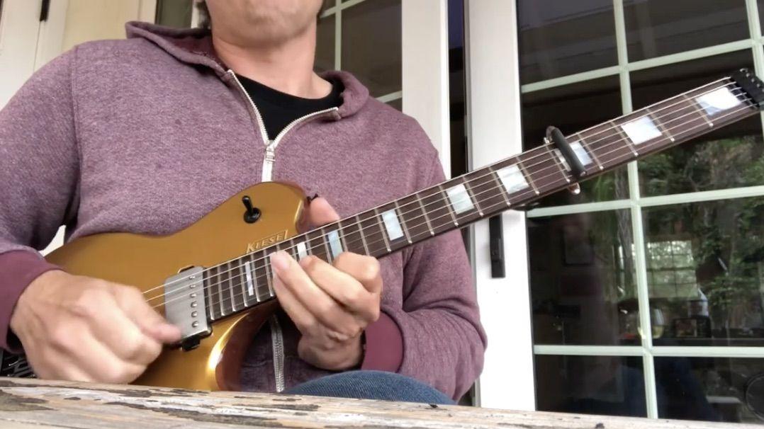 Watch Joe Bonamassa Demo His New 1948 Fender Dual Professional Signature Amp with a Headless Kiesel