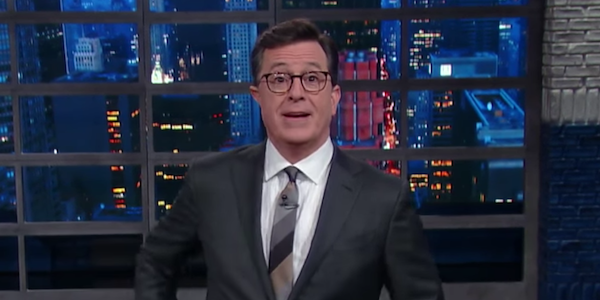 stephen colbert donald trump jokes late show