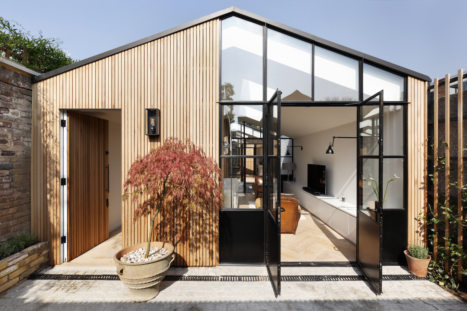 Explore A Former Timber Garage That's Now A Modern Family Home