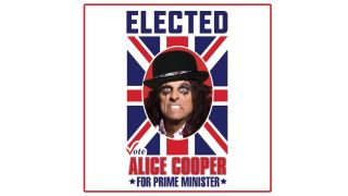 A poster advertising Alice Cooper for Prime Minister