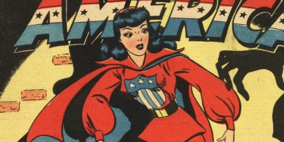 Madeline Joyce as Miss America