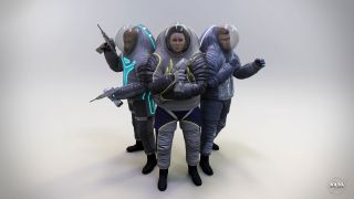 Next-gen spacesuits