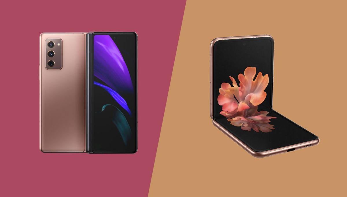 Samsung Galaxy Z Fold 2 vs Samsung Galaxy Z Flip: Turn on, Fold in, and Flip out