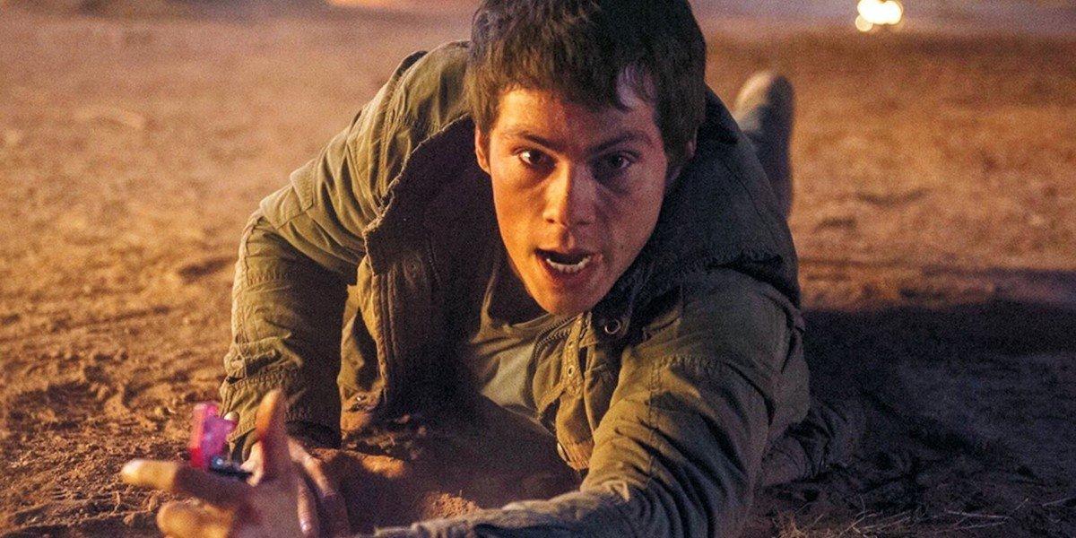 Dylan O'Brien in Maze Runner movies