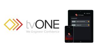 tvONE Debuts CORIOmaster App for Smartphones, Tablets