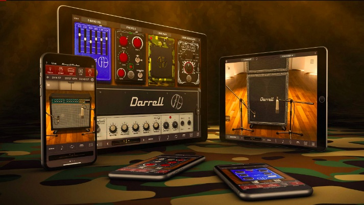 Get Dimebag Darrell's Tone from Pantera's 'Cowboys from Hell' on Your iPhone or iPad with Amplitube for iOS