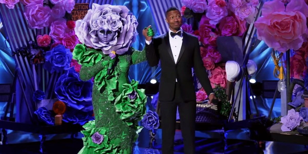 The Flower Nick Cannon The Masked Singer Fox