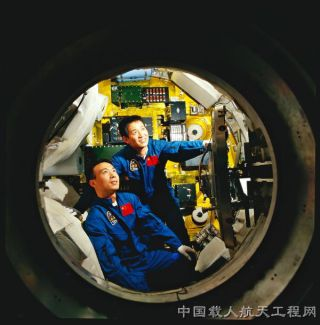 China's astronaut corps are engaged in extensive training.