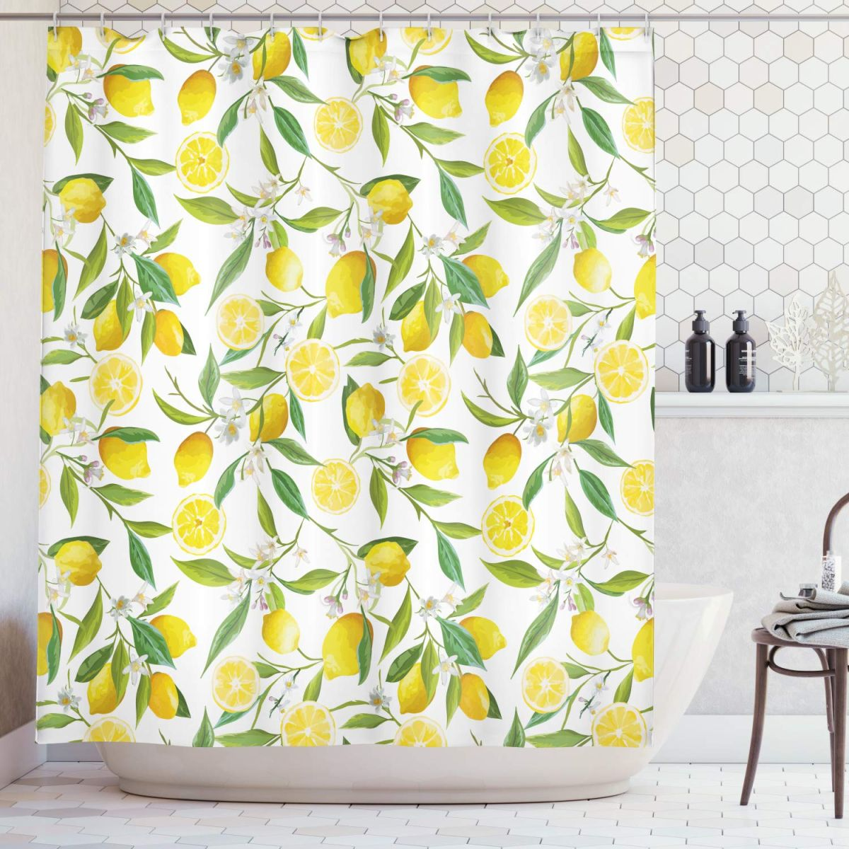 5 Shower Curtains To Update Your Bathroom Quickly And