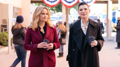 Reese Witherspoon and Julianna Margulies in 'The Morning Show'