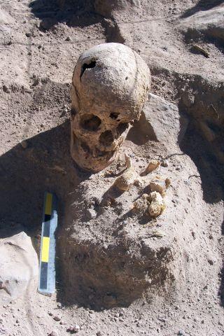 tenahaha, young woman's skull, mummies