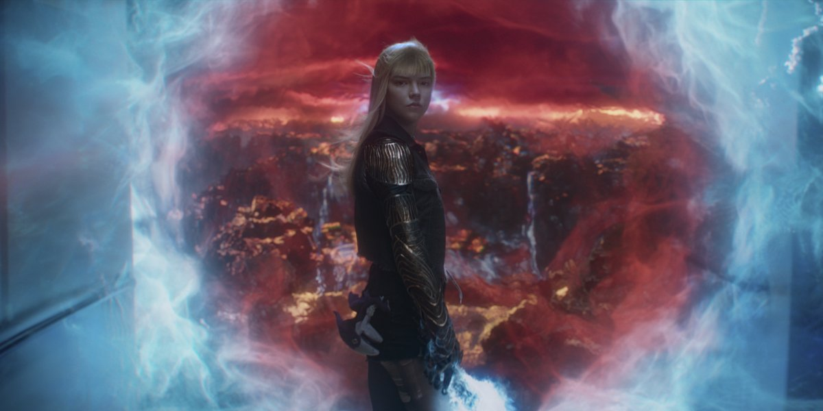 Anya Taylor-Joy as Illyana Rasputin in The New Mutants