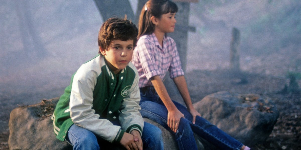 Fred Savage and Danica McKellar on The Wonder Years