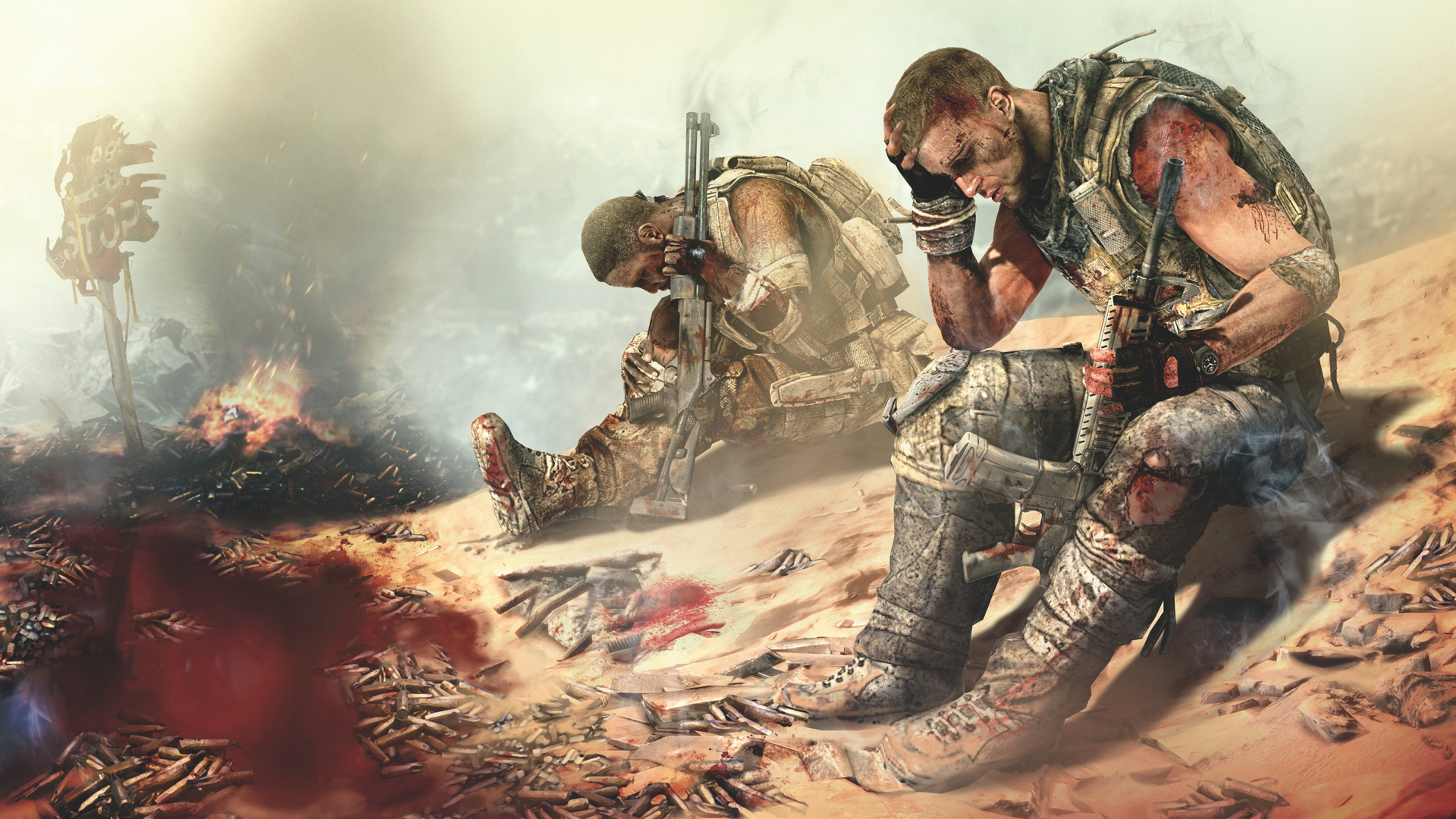 Taking an uncomfortable, thought-provoking journey into the heart of  darkness with Spec Ops: The Line | GamesRadar+