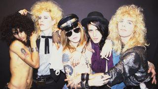 Guns N' Roses in 1985