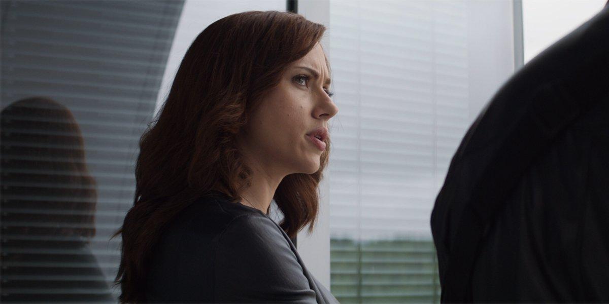 Black Widow In Captain America Civil War