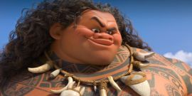 Dwayne Johnson Can't Stop, Won't Stop Trying To Convince His Little Daughter He's Actually In Moana