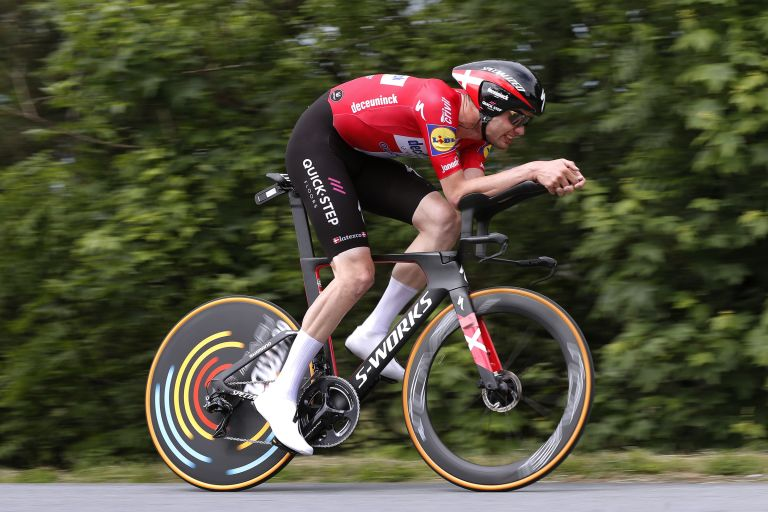 Kasper Asgreen won the Danish time trial title for a third time