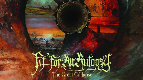 Cover art for Fit For An Autopsy - The Great Collapse album