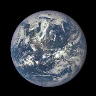 DSCOVR View of Sunlit Earth
