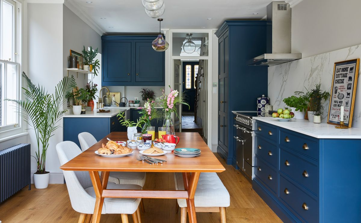 15 blue kitchen ideas to make you want to try this on trend look