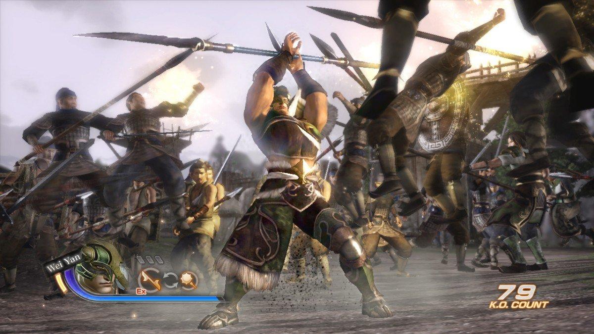 Dynasty Warriors 7 Character And Combat Screenshots #16496