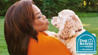 Celebs and their rescue dogs – Oprah