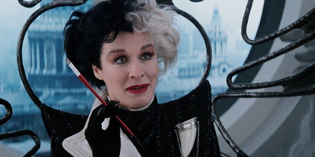 Glen Close as Cruella de Vil in 101 Dalmatians