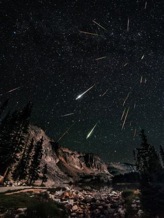 Perseid Meteor Shower 2012: David Kingham