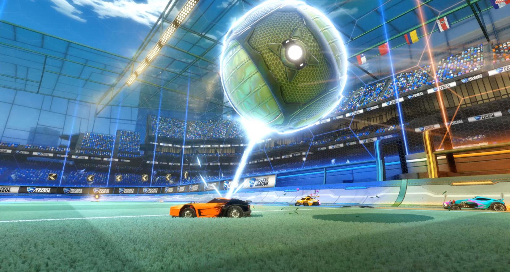 Rocket League is getting a battle royale style Rumble mode next month