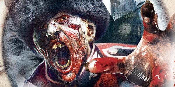 A zombie attacks in Zombi.