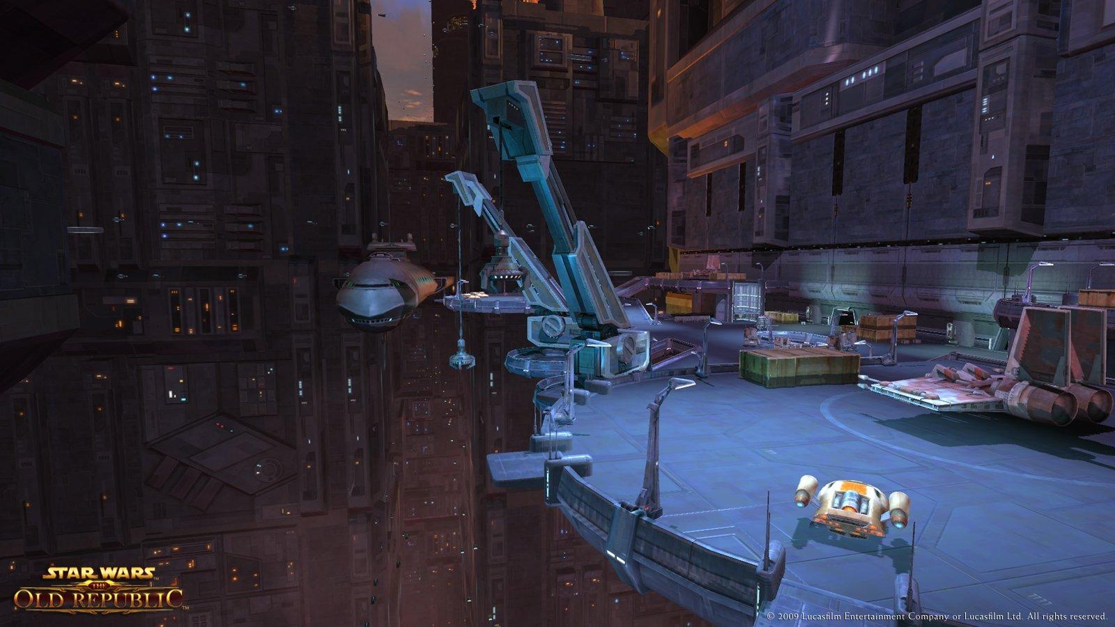 Star Wars The Old Republic Coruscant Screenshots Concept Art