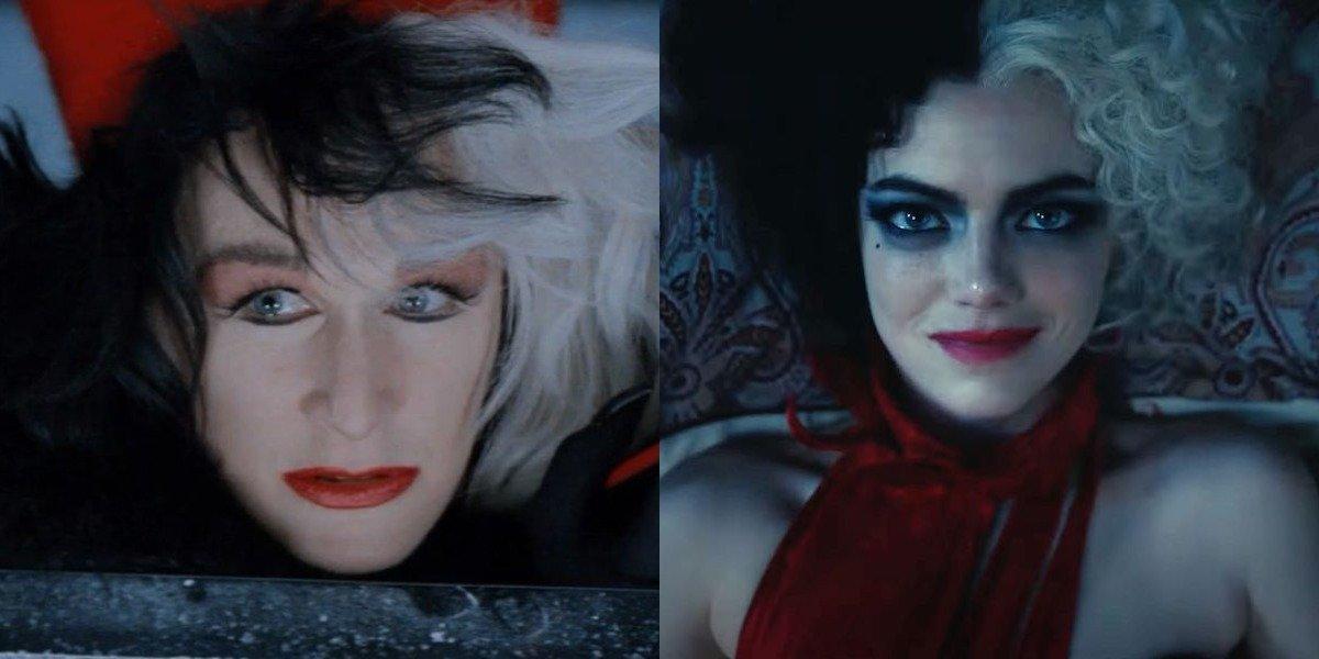How Emma Stone's Cruella Is Inspired By Glenn Close, According To The Film's Costume Designer