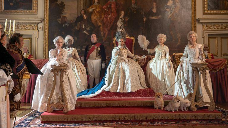 Netflix's Bridgerton Queen Charlotte