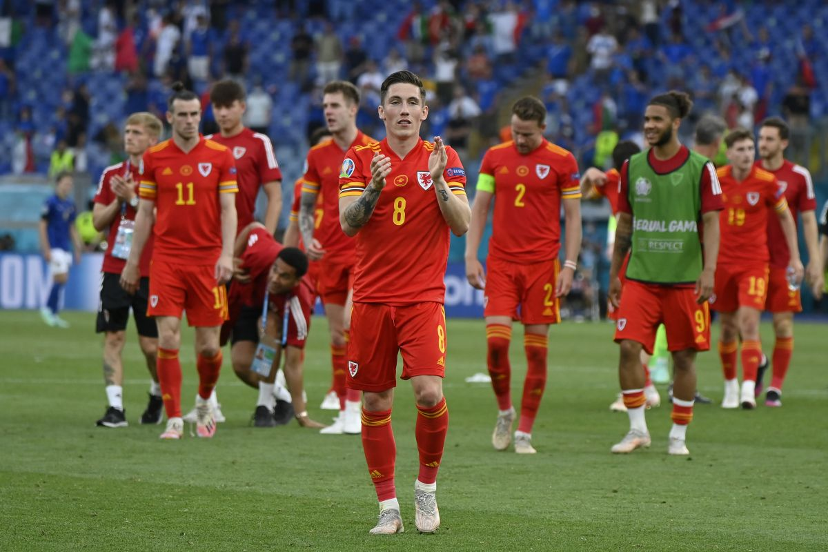 Wales reach knockout phase of Euro 2020 despite defeat to Italy in Rome