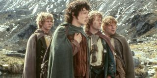 Some of the main characters of _The Lord of the Rings_ saga.