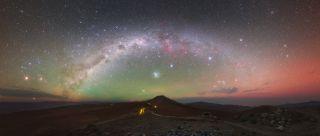 Paranal Observatory Night Sky