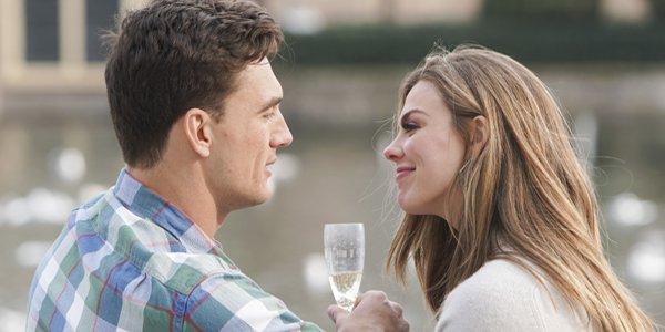 Bachelorette 2019 Season 15 Tyler C and Hannah champagne ABC