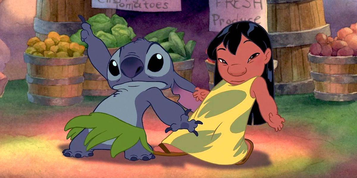 Lilo & Stitch Disney animated movie