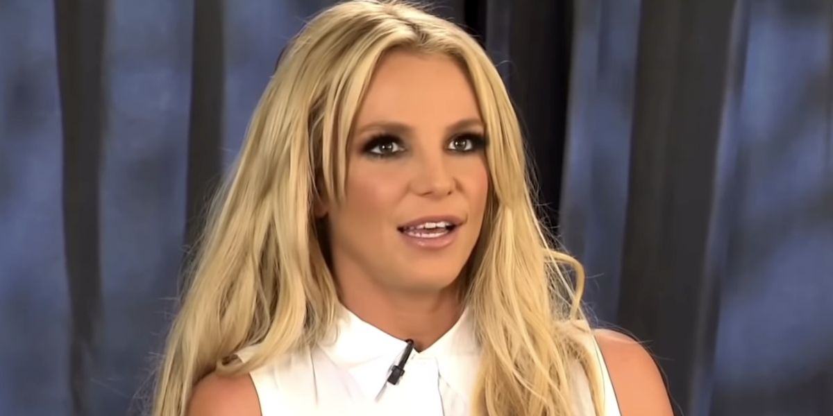 britney spears extra interview