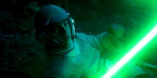 Luke training Leia