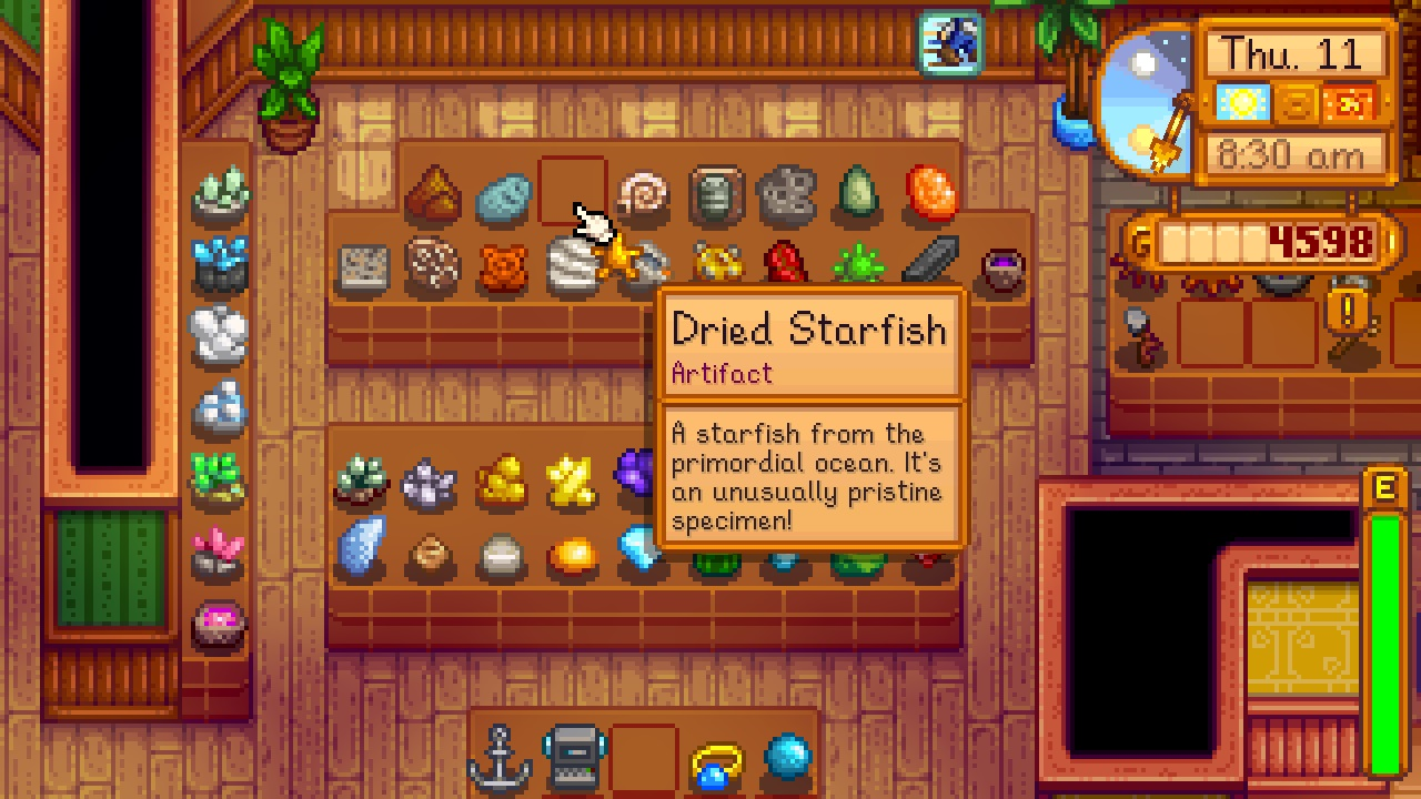 This Stardew Valley mod helps you manage the pesky museum and