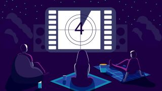 How to make a backyard movie theater