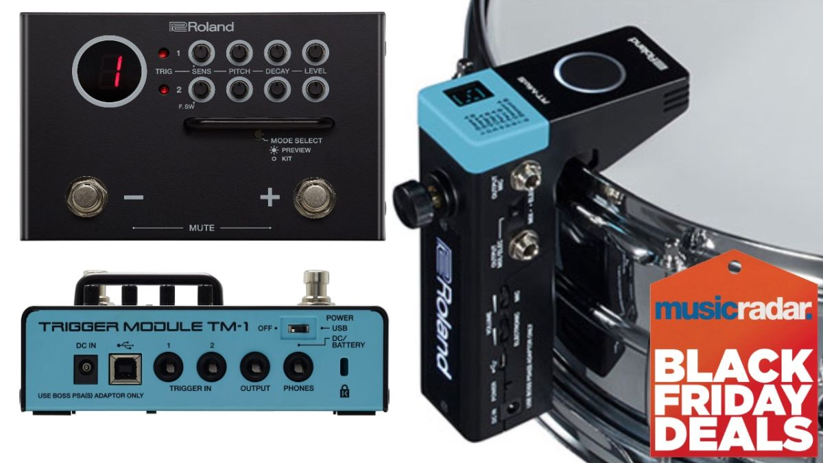 Roland's TM-1 trigger module and RT-MicS both drop to just $99 on Cyber Monday