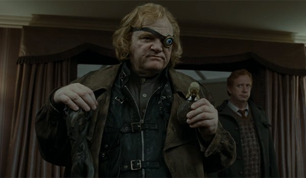Mad-Eye Moody in Harry Potter and the Deathly Hallows