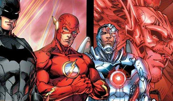 Cyborg Flash Batman