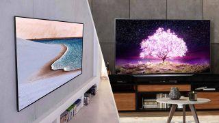 LG C1 OLED vs LG GX OLED